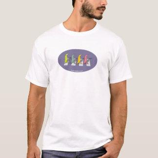 T-shirt de Beatles de 4 lézards