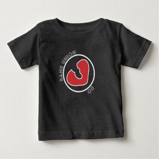 T-shirt de bébé avec le logo du bourreau des