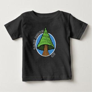 T-shirt de bébé - chanson d'arbre des syndicats de