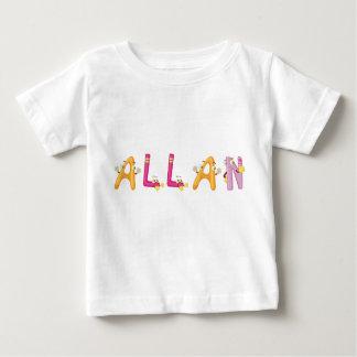 T-shirt de bébé d'Allan