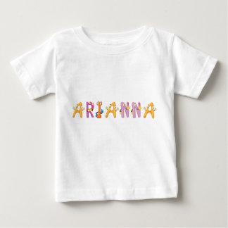 T-shirt de bébé d'Arianna