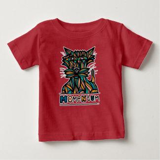 """T-shirt de bébé de BuddaKats de """"élan"""""""