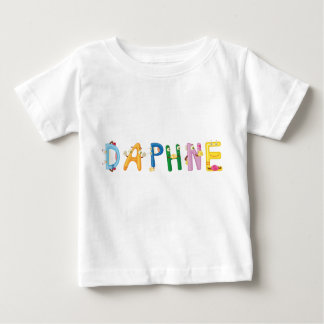 T-shirt de bébé de Daphne