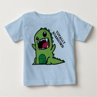 T-shirt de bébé de dinosaure