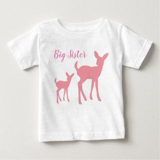 T-shirt de bébé de grande soeur