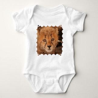 T-shirt de bébé de guépard de bébé