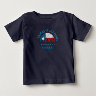 T-shirt de bébé de Harvey d'ouragan fort du Texas