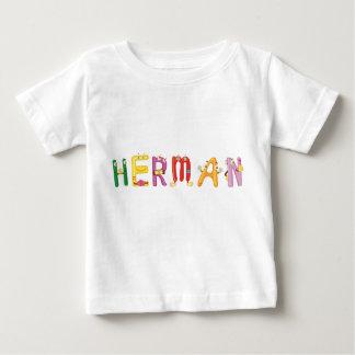 T-shirt de bébé de Herman