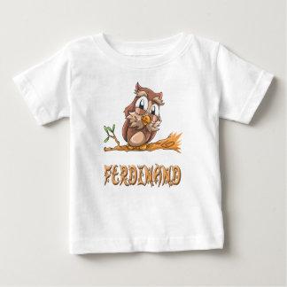 T-shirt de bébé de hibou de Ferdinand