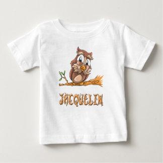 T-shirt de bébé de hibou de Jacquelin