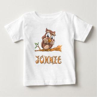 T-shirt de bébé de hibou de Johnie