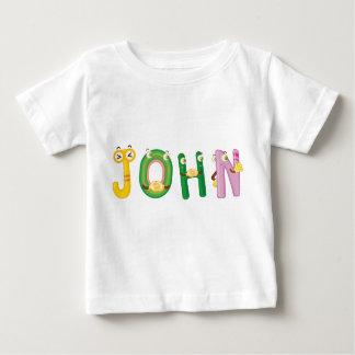 T-shirt de bébé de John
