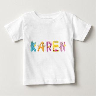 T-shirt de bébé de Karen