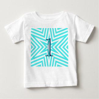 T-shirt de bébé de l'âge 1