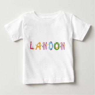 T-shirt de bébé de Landon