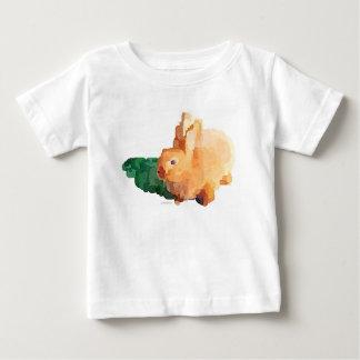 T-shirt de bébé de lapin (blanc)
