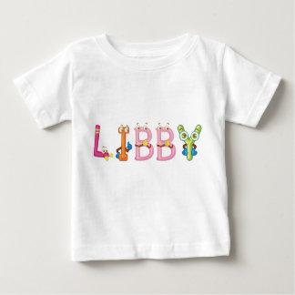 T-shirt de bébé de Libby