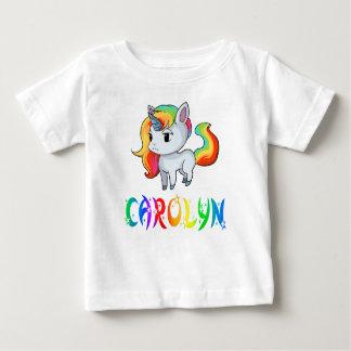 T-shirt de bébé de licorne de Carolyn