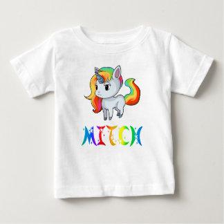 T-shirt de bébé de licorne de Mitch