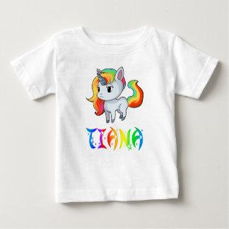 T-shirt de bébé de licorne de Tiana