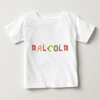 T-shirt de bébé de Malcolm