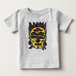 """T-shirt de bébé """"de masque primitif"""""""
