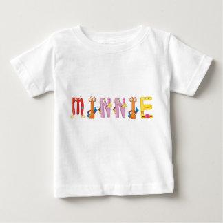 T-shirt de bébé de Minnie