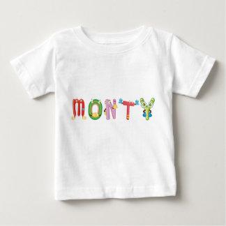 T-shirt de bébé de Monty
