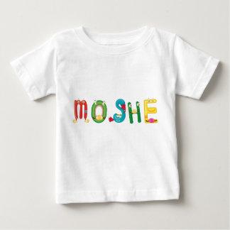 T-shirt de bébé de Moshe