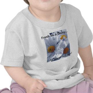 """T-shirt de bébé de nature """"frais comme marguerite…"""