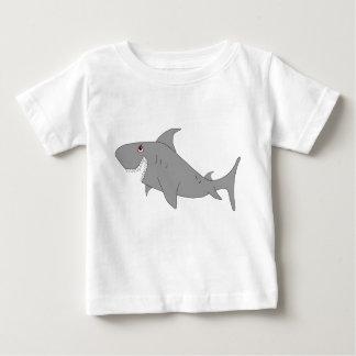 T-shirt de bébé de requin