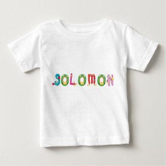 T-shirt de bébé de Solomon
