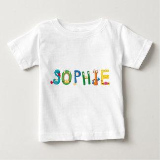 T-shirt de bébé de Sophie