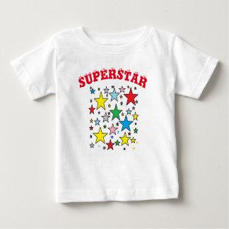 T-shirt de bébé de superstar