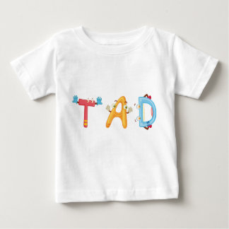 T-shirt de bébé de Tad