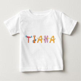T-shirt de bébé de Tiana