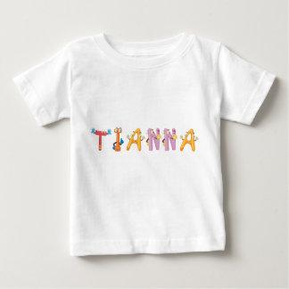 T-shirt de bébé de Tianna