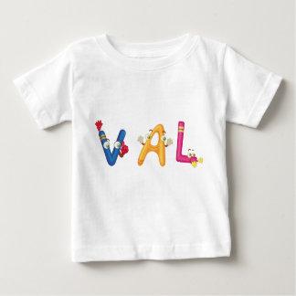 T-shirt de bébé de Val