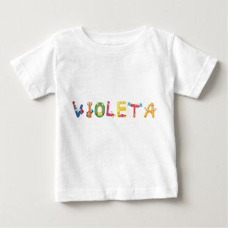 T-shirt de bébé de Violeta