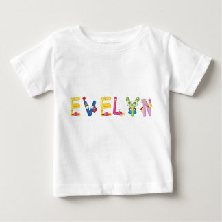 T-shirt de bébé d'Evelyn