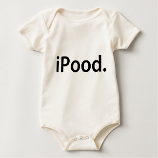 T-SHIRT de BÉBÉ d'iPood