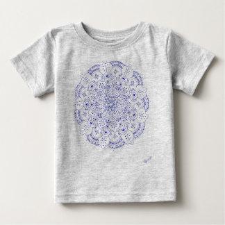 T-shirt de bébé du mandala 5