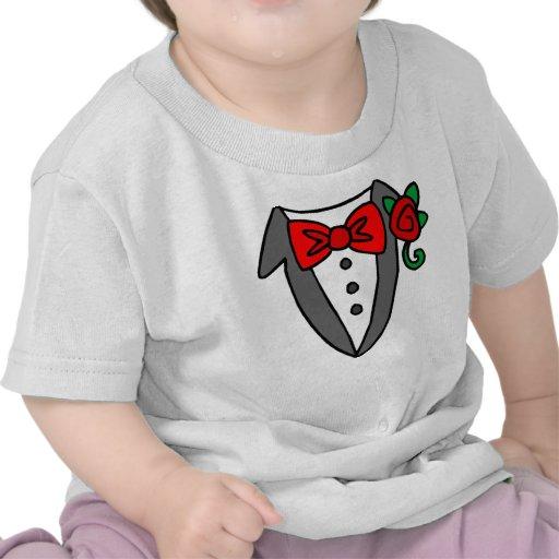 T-shirt de bébé/enfant en bas âge de smoking