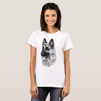 T-shirt de berger allemand
