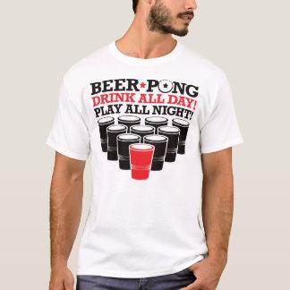 T-shirt De bière de puanteur de boissons toute la journée