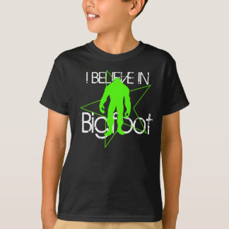 T-shirt de Bigfoot d'enfants