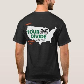T-shirt de Bikepacking de clivage de visite
