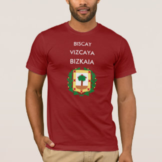 T-shirt de Biscay Vizcaya Biskaia