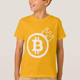 T-shirt de BITCOIN/CROWN-Kids