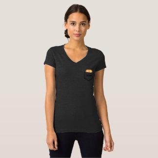 T-shirt de BITCOIN/POCKET-Women